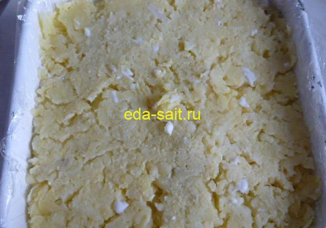 Салат Мимоза без моркови пошаговый рецепт с фото