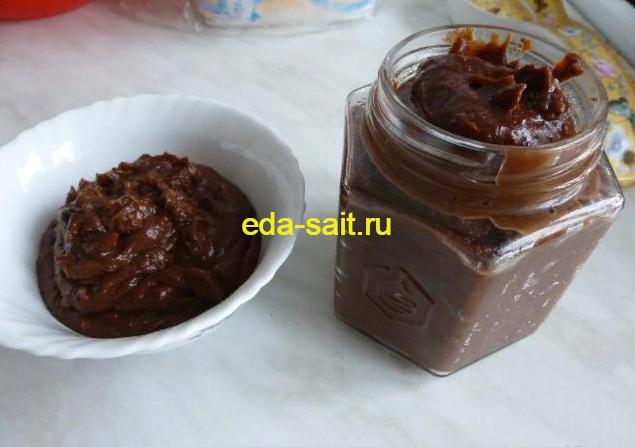 Нутелла с орехами в домашних условиях как приготовить