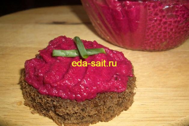 Закуска из свеклы пошаговый рецепт с фото