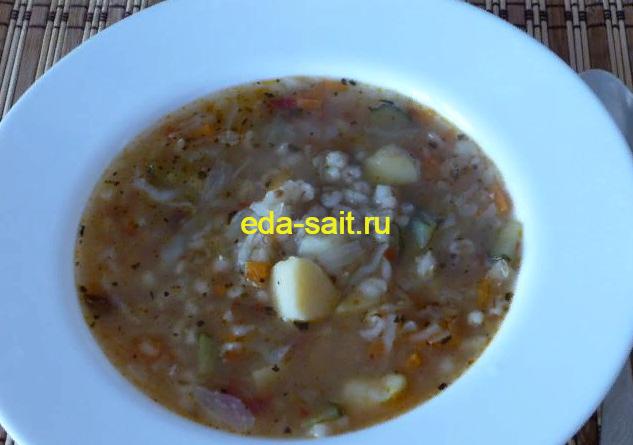 Рассольник с капустой пошаговый рецепт с фото