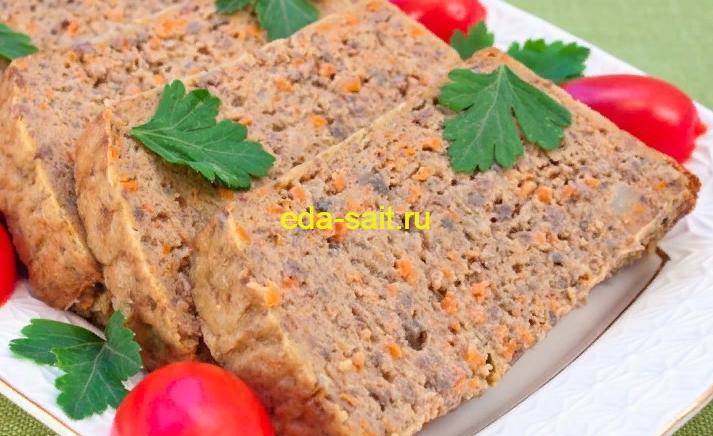 Суфле из куриной печени пошаговый рецепт с фото