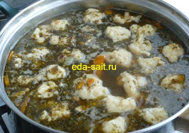Суп с куриными желудками пошаговый рецепт
