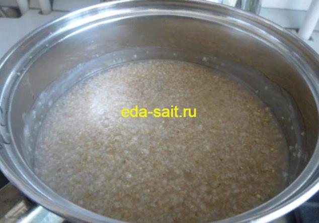 Ячневая каша на воде как варить пошаговый рецепт с фото