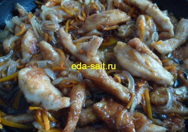 Курица терияки пошаговый рецепт с фото