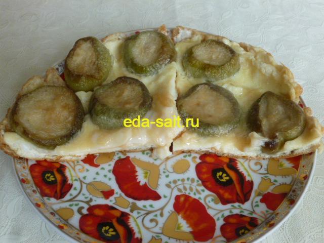 Яичница с кабачками пошаговый рецепт с фото