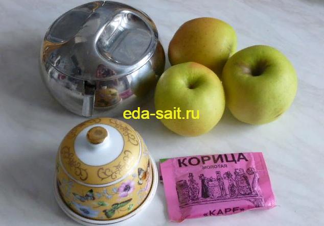 Блины фаршированные яблоками набор продуктов для приготовления яблочной начинки