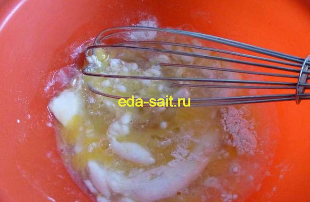 Делаем соус для фаршированных баклажанов мясом