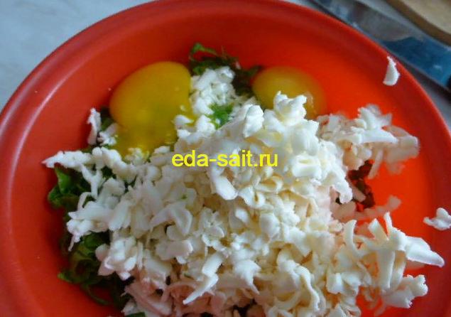 Добавляем в начинку для бутербродов яйца