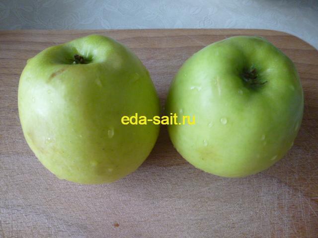 Яблоки для запеканки с помидорами