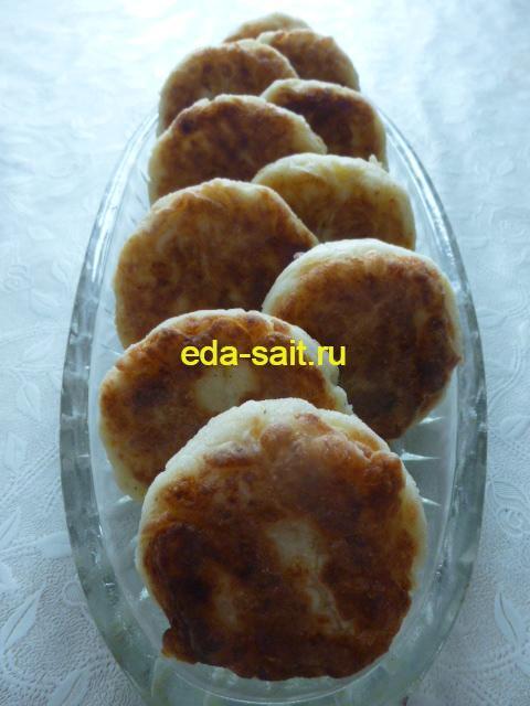Картофельные котлеты из пюре фото