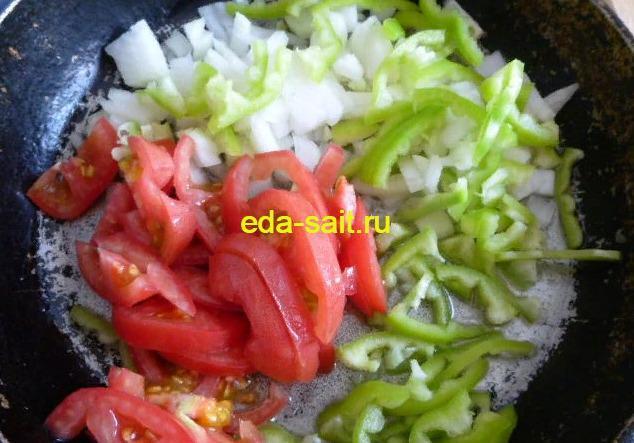 Овощи для фарширования баклажанов