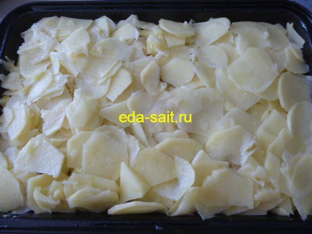 Четвертый слой картошка