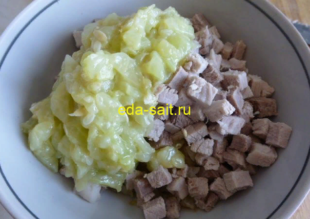 Огурцы фаршированные мясом пошаговый рецепт с фото
