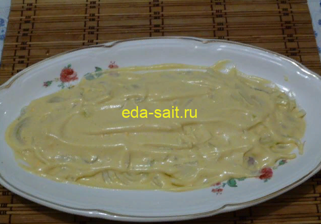 Закуска из сельди в соусе