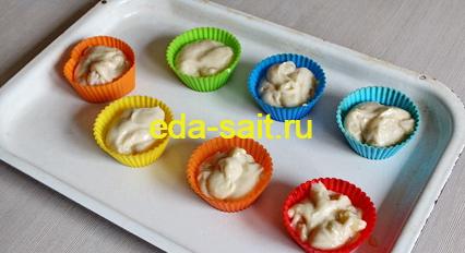 Банановые маффины без яиц рецепт с фото