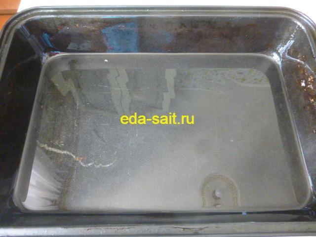 Форма для выпекания смазанная маслом