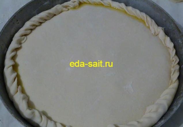 Формируем апельсиновый пирог