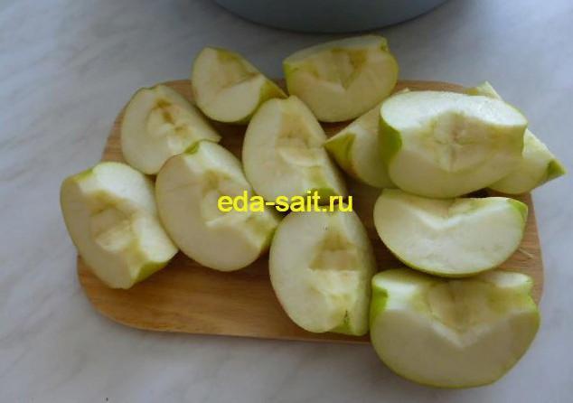 Яблоки для фарширования курицы
