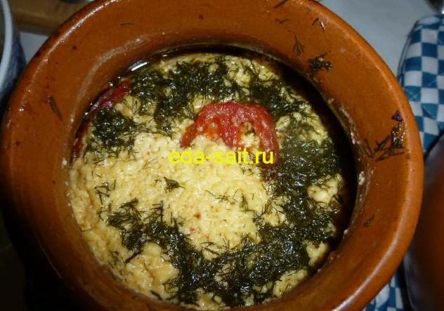 Кабачки с творогом и помидорами в духовке