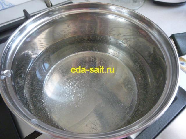 Кипятим воду для варки риса