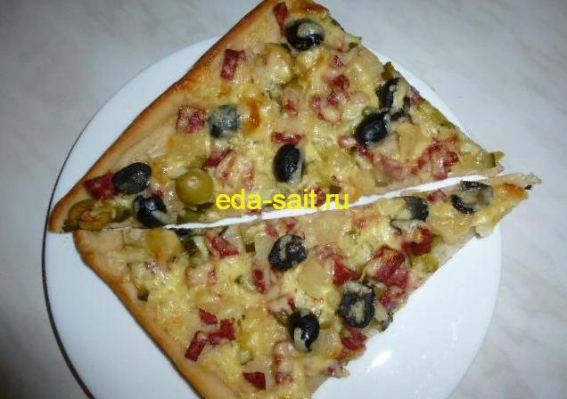 Пицца 100 грамм