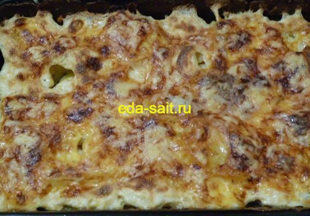 Картошка со сливками