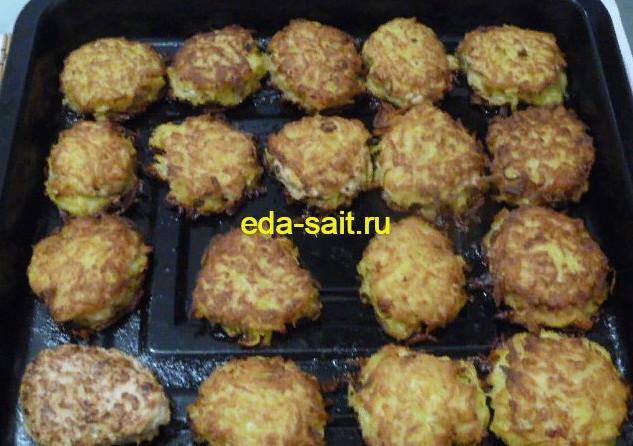 Колдуны с фаршем запеченные в духовке