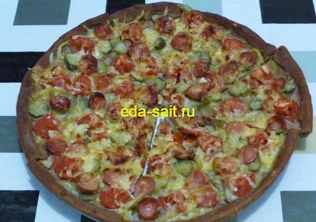 Пицца из ржаного теста