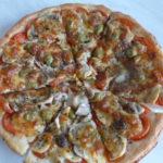 Пицца с моцареллой пошаговый рецепт с фото