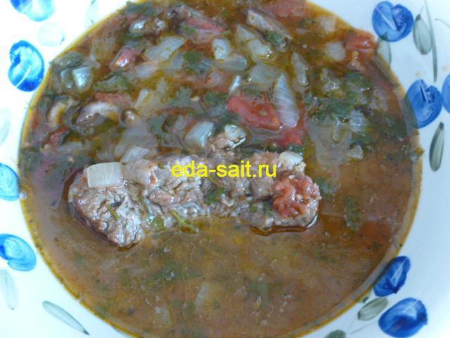Пиева Узбекский луковый суп
