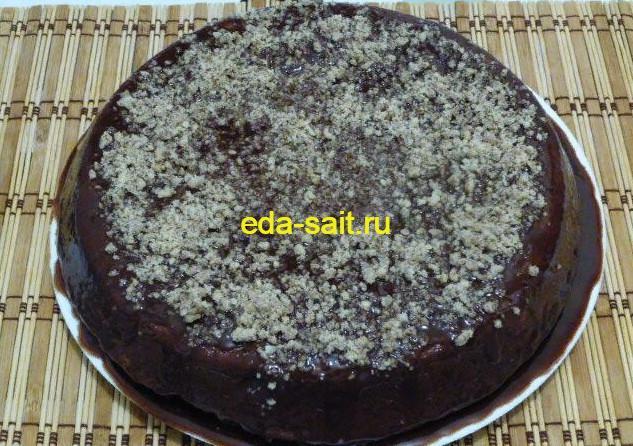 Шоколадный кекс фото