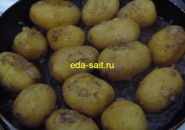 Варим картошку до готовности