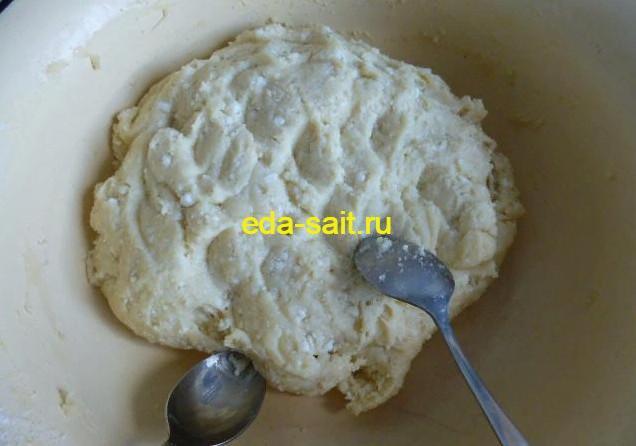 Тесто для творожных пончиков