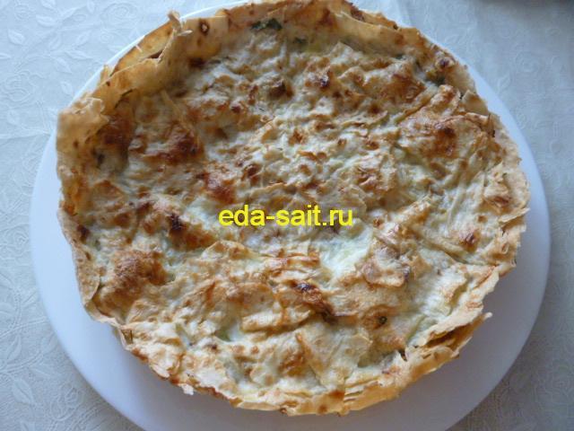 Ачма из лаваша с сыром рецепт