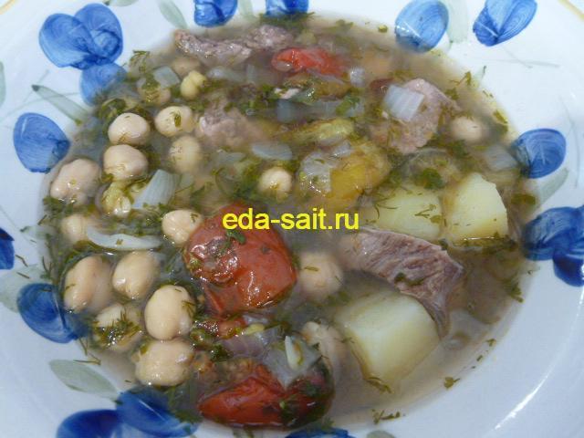 Азербайджанский суп пити фото