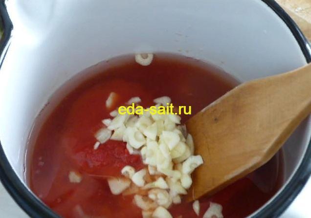Томатный соус для фрикаделек