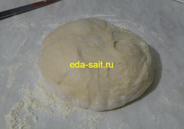 Дрожжевое тесто для пирожков с картошкой