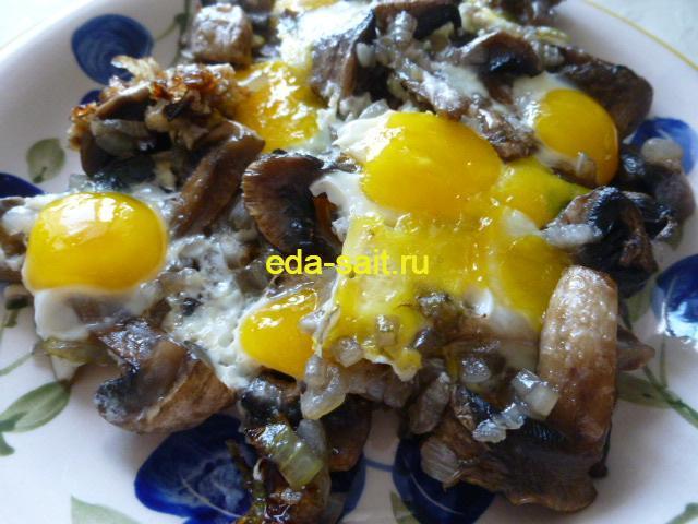 Яичница из перепелиных яиц рецепт с фото