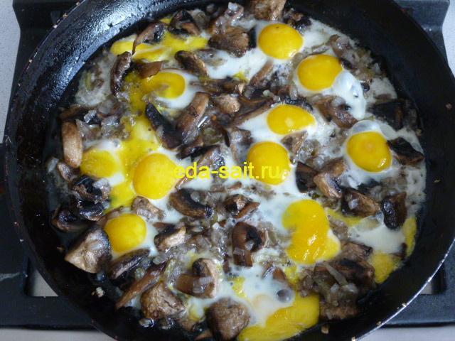 Яичница из перепелиных яиц пошаговый рецепт с фото