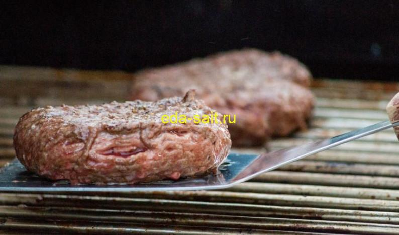 Котлеты для гамбургера