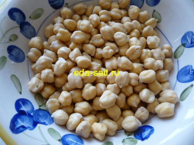 Нут для азербайджанского супа в горшочках
