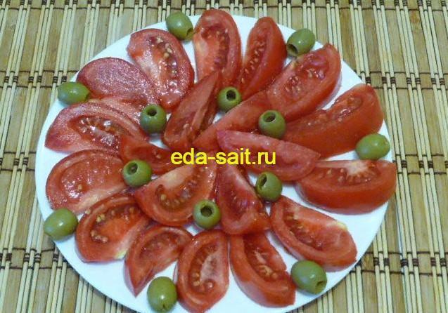 Оформление овощной нарезки фото