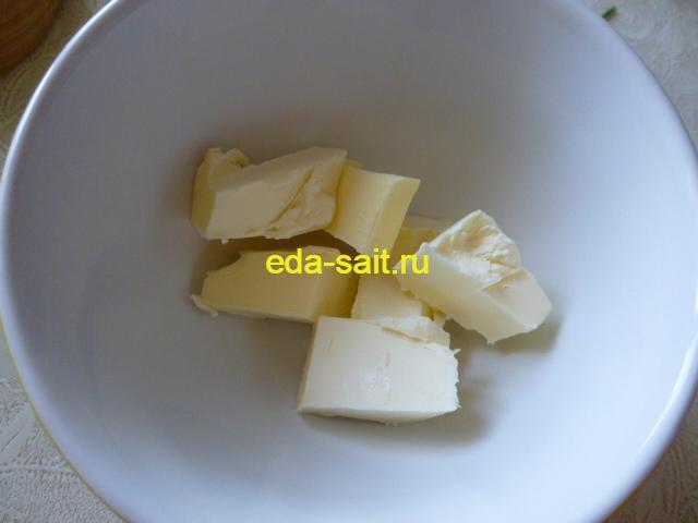 Сливочное масло для смазывания лаваша