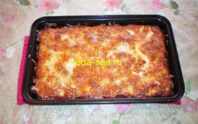 Вареный картофель с сыром пошаговый рецепт с фото