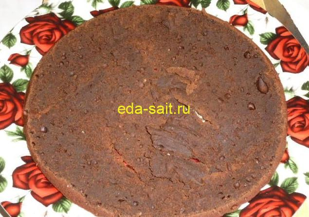 Торт с какао формирование