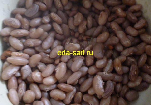 Вареная фасоль для вареников