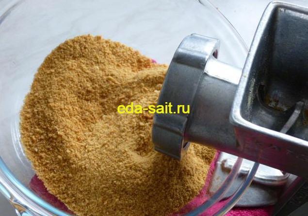 Делаем панировочные сухари дома