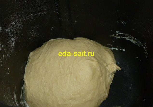 Пресное тесто для вареников с капустой