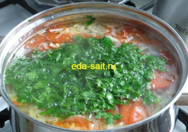 Суп с куриной грудкой и овощами рецепт