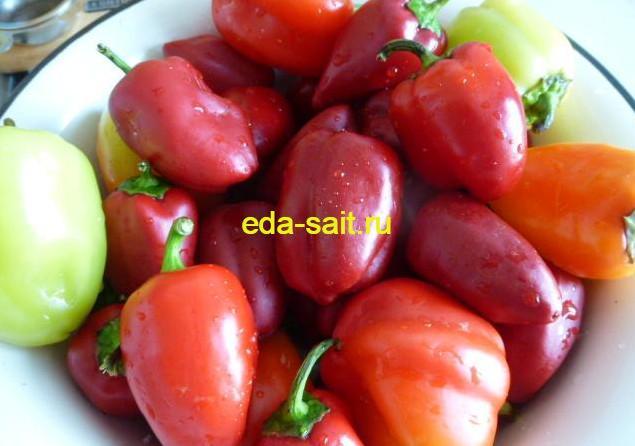 Заготовка зелени и овощей болгарский перец